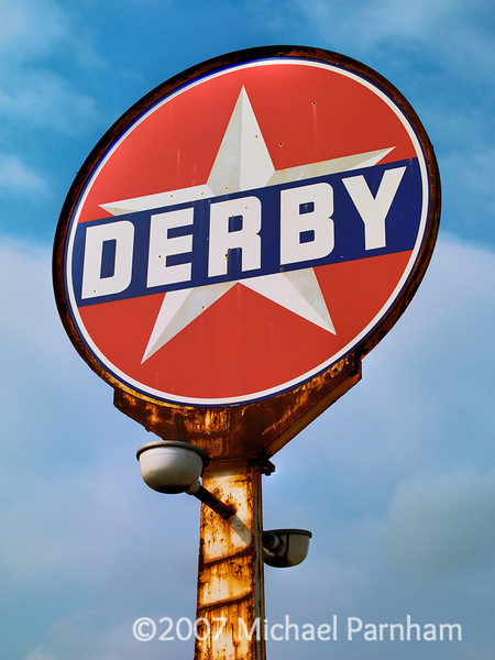 Derby Gas Sign