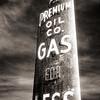 Premium Oil Sign