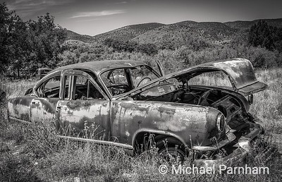 Old Car, West Central NM