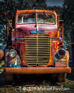 Rusted Out Dodge Truck