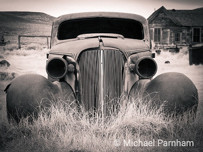 Abandoned Studebaker Straight On