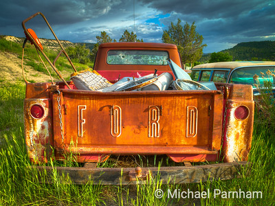 Rusted Ford Tailgate