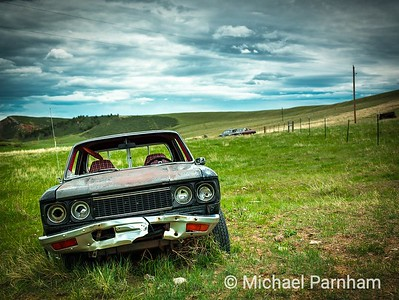 Abandoned cars, Southern WY
