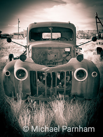 Stripped Down Truck, Northern New Mexico, 2010