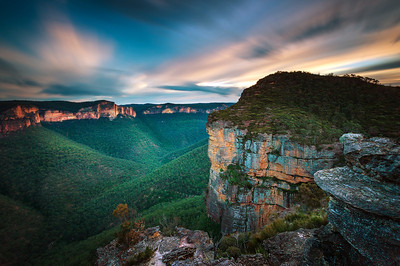Grose River Valley, Blue Mountains - New South Wales.