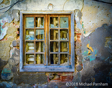 Layered Window, Segovia, Spain, 2018