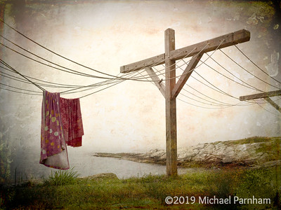 Clotheslines in Fog