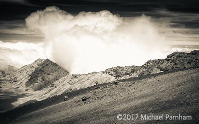 Haleakala Plume, 2017