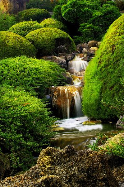 Waterfalls, Japanese Gardens - Cowra
