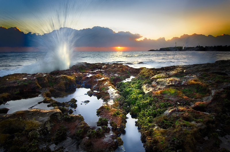 Crashing Against the Shore - Wollongong, NSW
