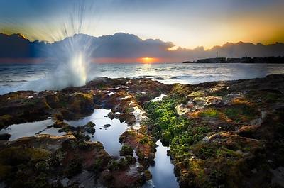 Crashing Against the Shore - Wollongong, NSW