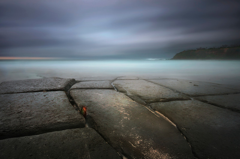 Tessellated Pavement. Dolphin Point, NSW.