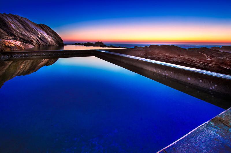 Blue Pool Dawn