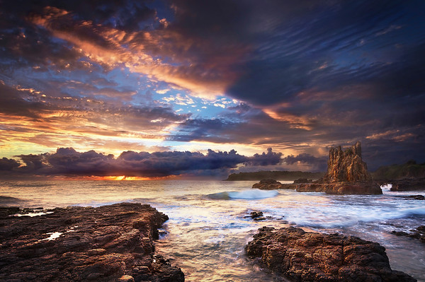 Cathedral Rock - Kiama NSW.