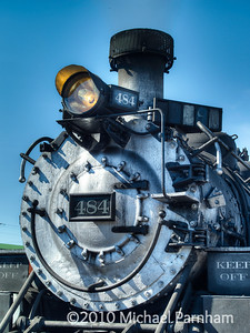 Locomotive 484 Closeup