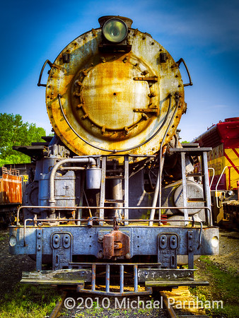 Rusted Steam Locomotive