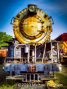 Rusted Steam Locomotive