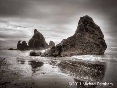 Ruby Beach Stacks