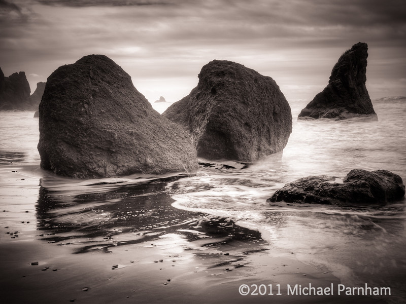 Ruby Beach Flows, Southern Washington Coast, 2011