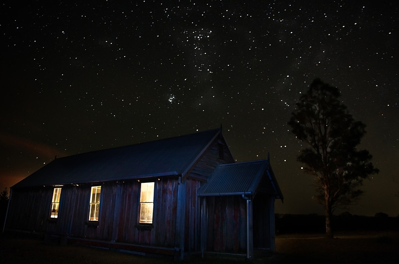 St Matthews Church Under Stars, The Oaks NSW