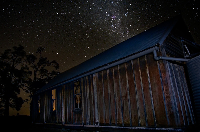 St Matthews Church Under The Milky Way, The Oaksr, Wollondilly New South Wales.