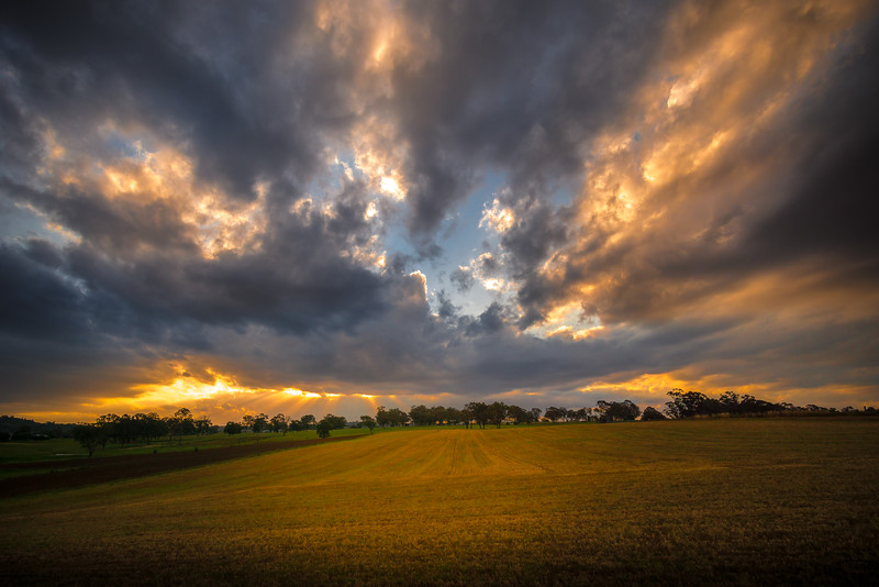 Wollondilly Landscape - Dusk