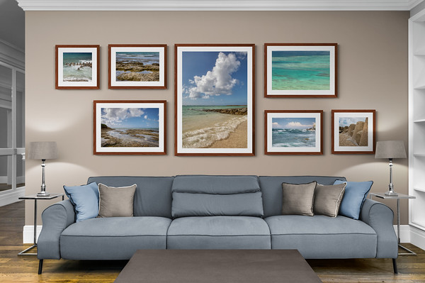 Asymmetrical Gallery Wall