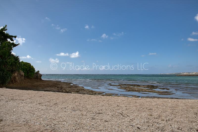 Sunabe Beach Shoreline