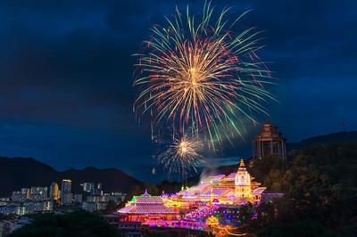 Kek Lok Si Temple Fireworks | Malaysia