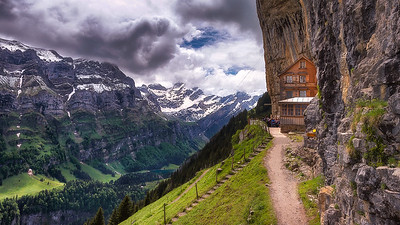 Cliff Restaurant of Ebenalp | Switzerland