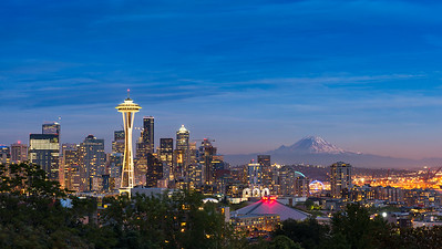 The Seattle Skyline | U.S.A