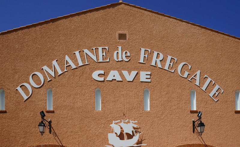 Domaine de Fregate: a large co-op winery