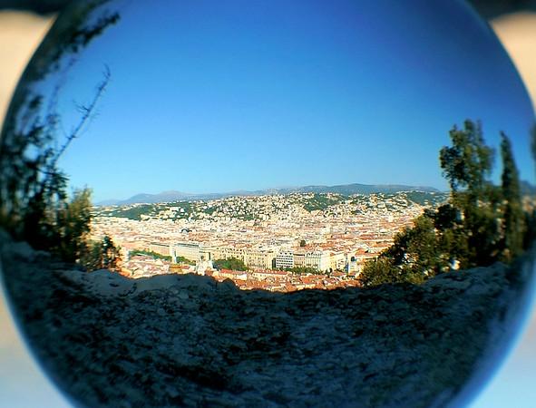 Lensball scenic