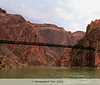 Black Bridge that we had crossed yesterday (yes, there is another bridge, the Silver bridge, a bit down river)<br /> <br /> <br /> Grand Canyon, 2009, Day 2, 04/25/09