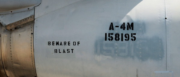Beware of Blast  Oakland Aviation Museum Oakland International Airport  September 17. 2009