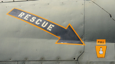 Rescue... Pull here!  Oakland Aviation Museum Oakland International Airport  September 17. 2009