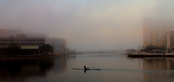Rowing in the Fog