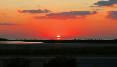 Sunset South Padre Island, TX October 6, 2010
