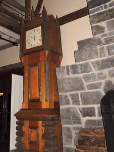Wood Clock | Paradise Inn - Mount Rainier