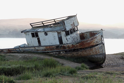 Point Reyes Shipwreck   Inverness, CA