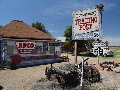Tucumcari Trading Post | Route 66 in New Mexico