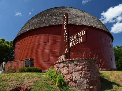 Arcadia Round Barn | Route 66 in OK
