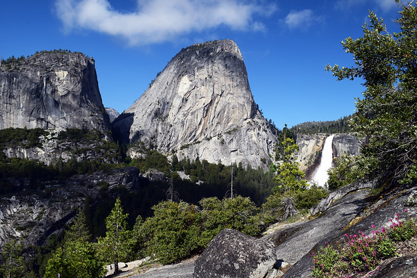 Nevada Falls & Liberty Cap | Yosemite National Park