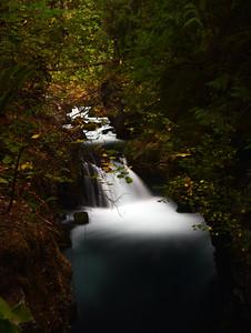 Upper Toketee Falls   Oregon