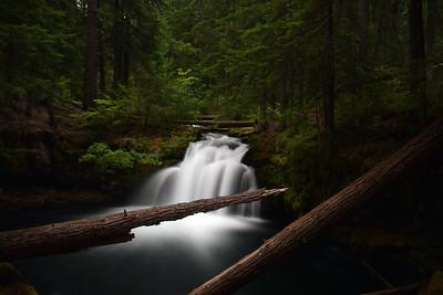 Whitehorse Falls   Oregon