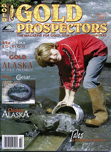 Cover Photo - Gold Prospectors Magazine, Jan 2011