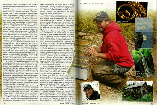 """Digital Gold Article,"" Gold Prospectors Magazine, Jan 2011"