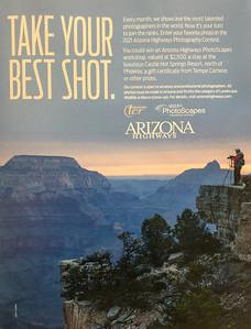 Take Your Best Shot, Arizona Highways, Sept 2020