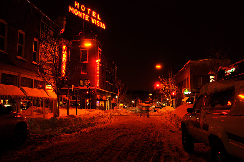Flagstaff Winter Night