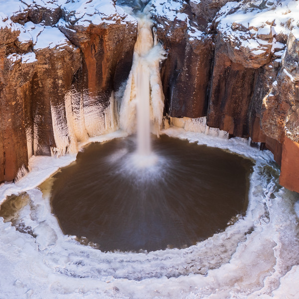 Frosty Falls at Sycamore